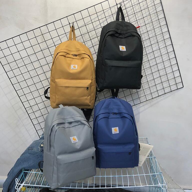 Marca Designer Mochila 19ss saco de Escola sacos ao ar livre Unisex de Alta Qualidade Duffle sacos bookbags Canvas Mochilas de Viagem Ombro Duplo saco