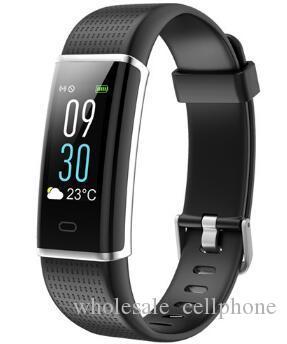 ID130C Heart Rate Monitor Smart-Armband Fitness Tracker Smart-Uhren GPS Wasserdicht Smartwatch für iOS Android Phone Watch PK DZ09 Uhr