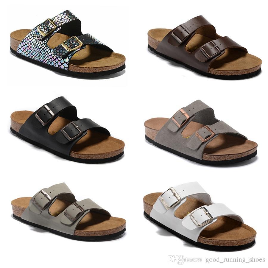 2020 nouvelle couleur chaussures de plage mode Hommes Femmes Chaussures d'été plat large Slippery Sandales Slipper flip siz34-46 Flop