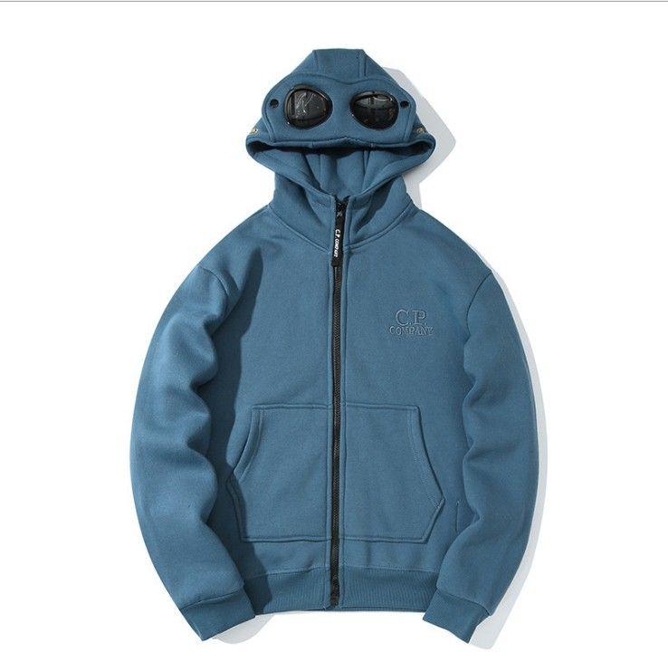 Cool Design Hoodies C.P Company Outerwear Glasses On The Hood Men Women Hooded Hoodies New Arrivel