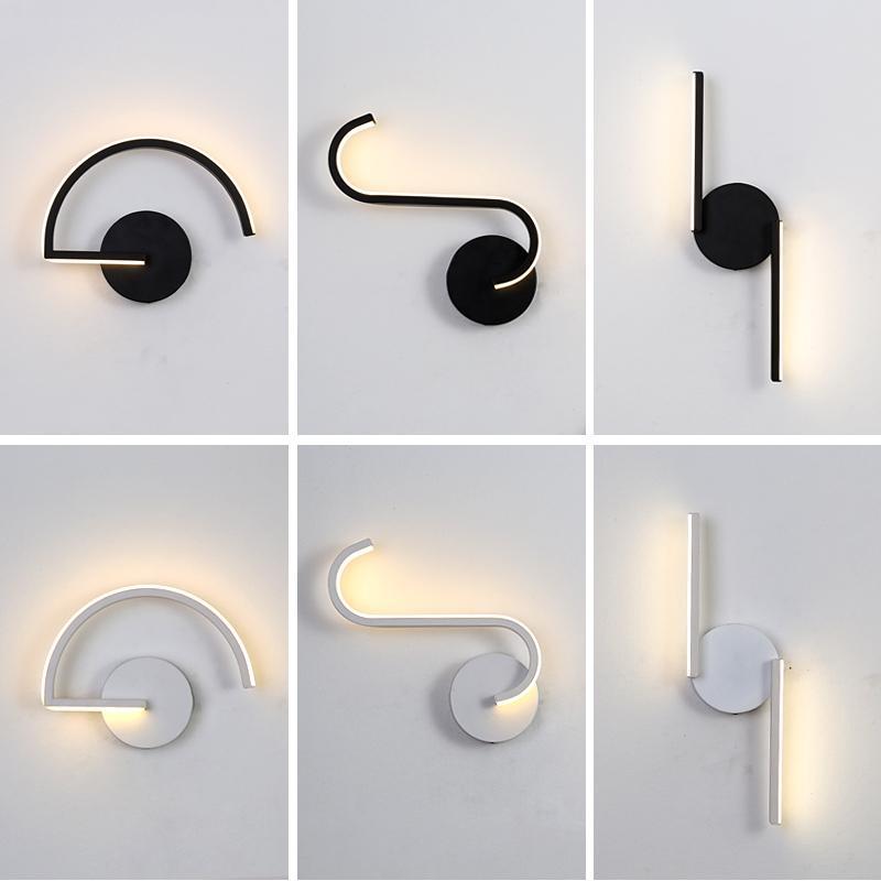 lámpara del dormitorio espejo de la vendimia de madera de la luz del pasillo de noche salón espelho