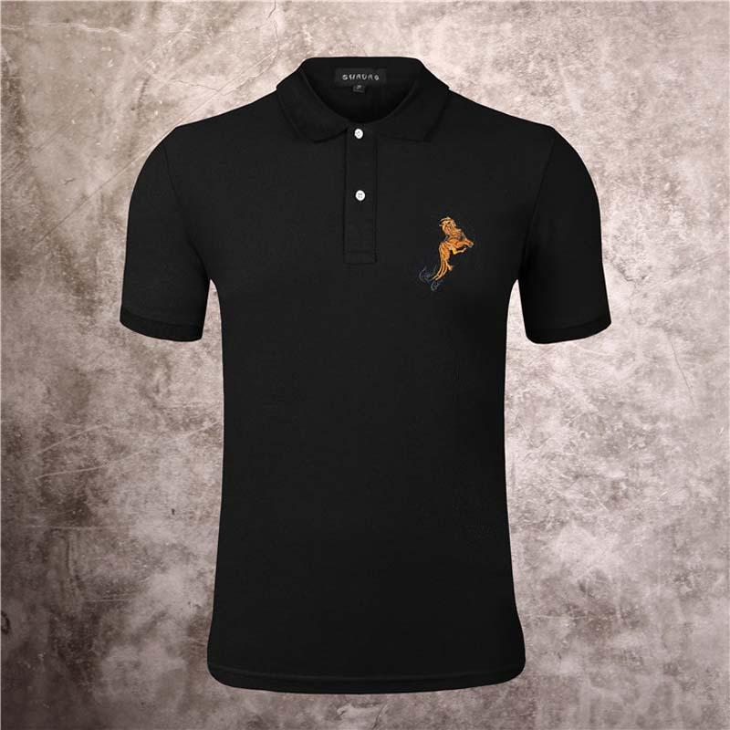 2020ss primavera e algodão novo alto grau de verão t-shirt impressão painel de manga curta gola redonda Tamanho:-m-l-xl-XXL XXXL i8j