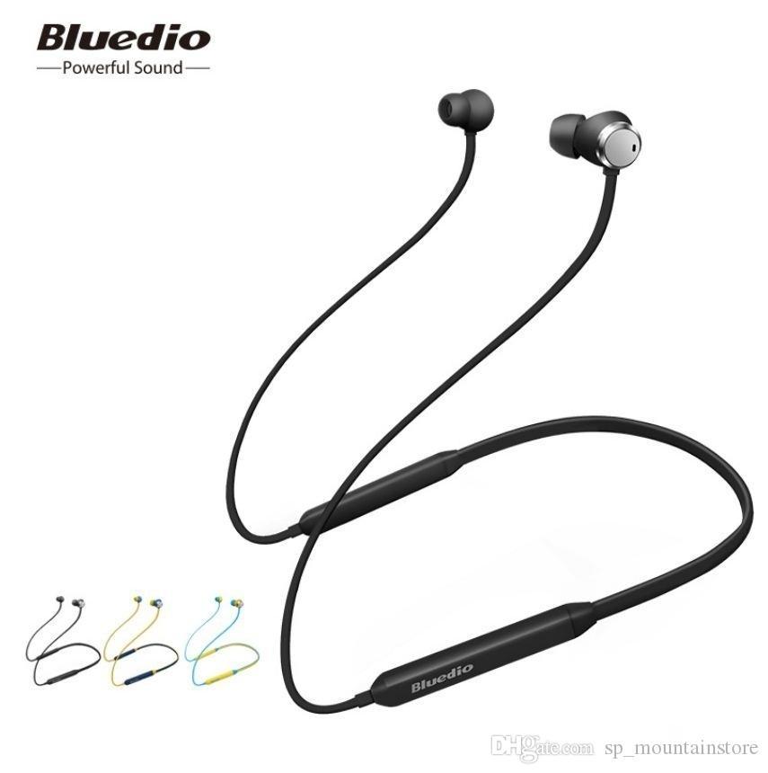 Bluedio 적극적인 소음 취소 스포츠 블루투스 이어폰 / 무선 헤드셋 삼성 화웨이와 음악 (소매)