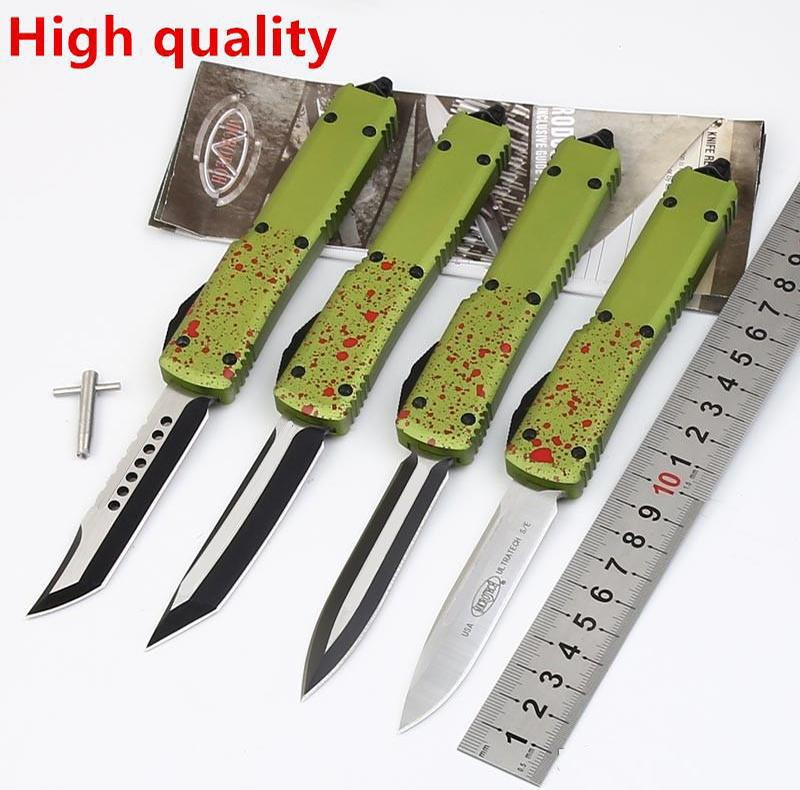 High quality Microtech Combat troodon A07 D/A optional Hunting Folding Pocket Knife Survival Knives Xmas gift for men C07 D07 616 A161 3300