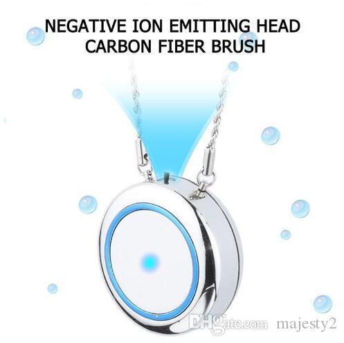 Tragbare Mini-Anhänger USB Halskette Luftreiniger Personal USB-Ladeluftreiniger Kragen Negative Ionisator Anion Luftreiniger Lufterfrischer