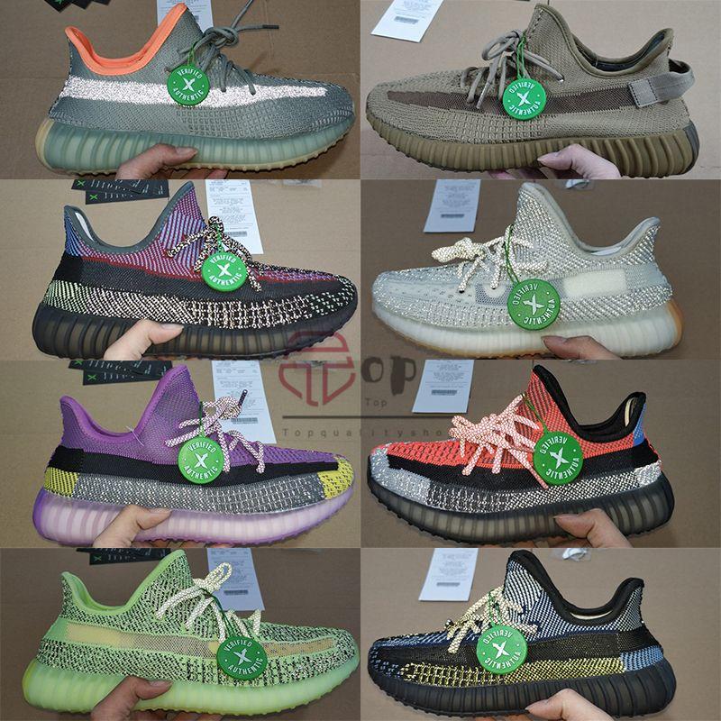 2020 Tephra 700 Kanye West Cinder Marsh Terra Fanale posteriore Yecheil Yeshaya riflettente Scarpe da corsa Sneaker con la scatola Dimensione 13 Uomini Donne Trainer