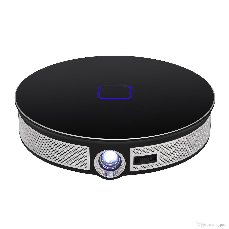 Raypodo DLP 3500 Lumin mini portable Projector With Siliver and Black color