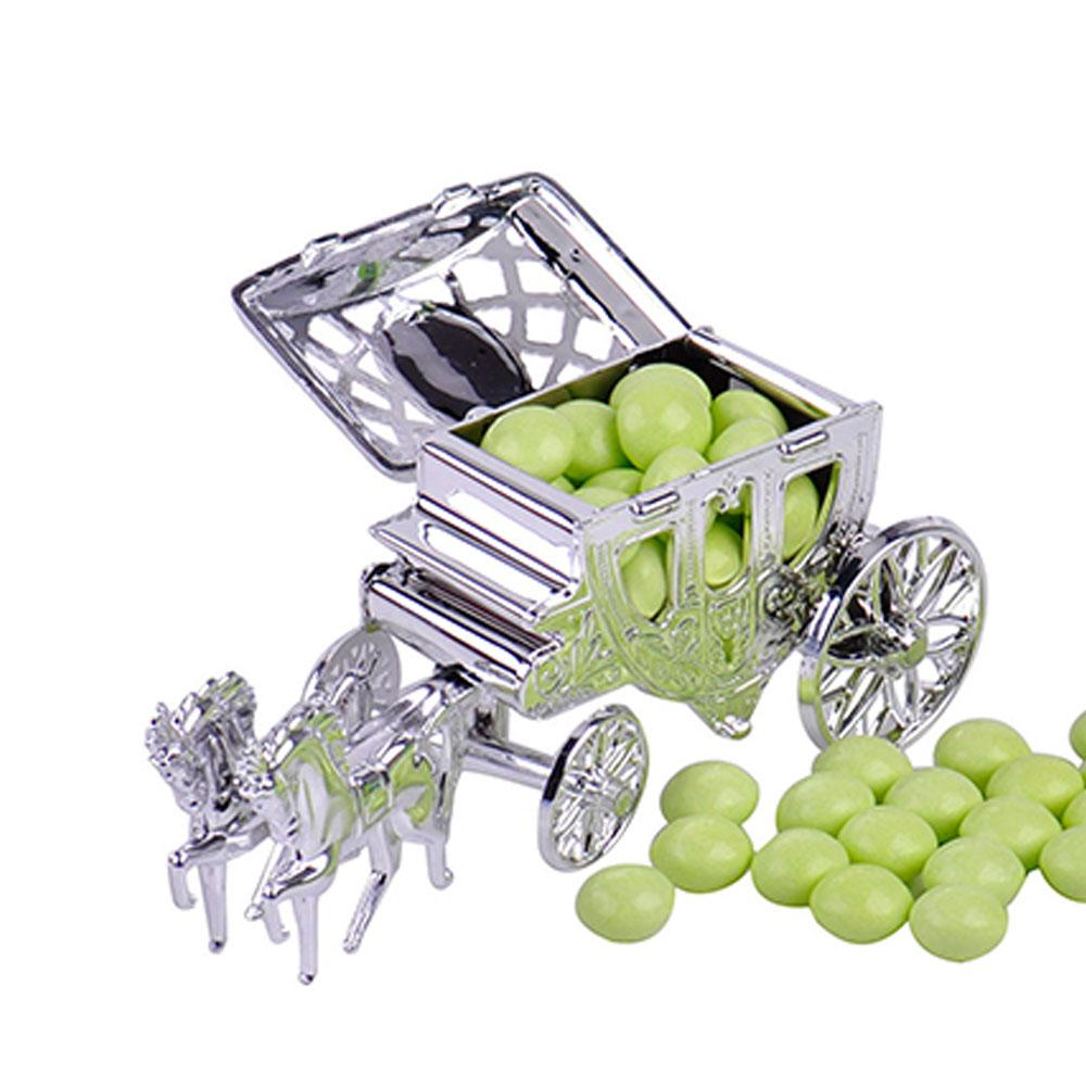 Carriage Candy Sweet Box Case Chocolate Gift Birthday Party Wedding Decoration