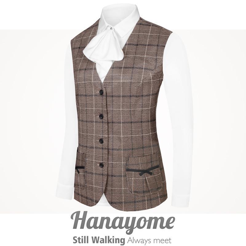 Damen Business Casual Suit Weste, Serviceindustrie Bekleidung Vielseitige Damen Independent Designer Brand, amerikanische Größe