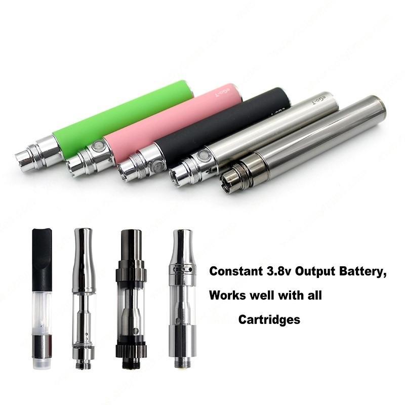 Variable Ego-t Ego t Capacité de la batterie cigarette électronique E-cig Ego Batteries 510 batterie fil Vape batterie Vaporizer Vape Pen