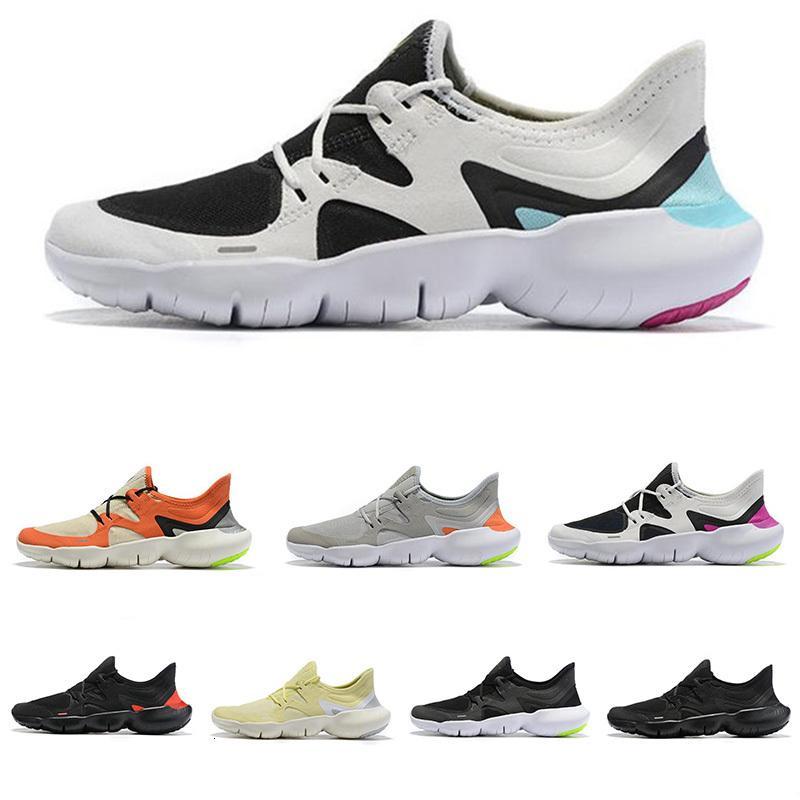 Livre RN 5.0 Os tênis masculino Moda Mens instrutor de verão respirável RUN Mulheres Leve Knit Sports Sneakers Tamanho 35-45