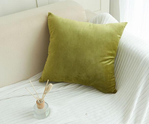 Бархатная наволочка твердый плюшевый узор наволочка диванная подушка Рождество рождественские квадратные наволочки домашний текстиль GGA2388