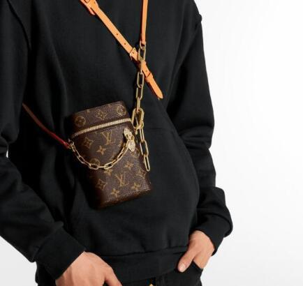 2020 년 새로운 체인 클러치 부대 최고 품질의 패션 디자이너 브랜드의 핸드백 럭셔리 여성 남성 모노그램을 어깨에 매는 가방 지갑 전화 상자 M44914