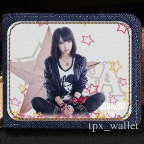 Portefeuille Lisa olive Porte-monnaie Risa Oribe Serment Signe étoiles petit billet de banque Sac de sac à main en cuir jean Porte-cartes