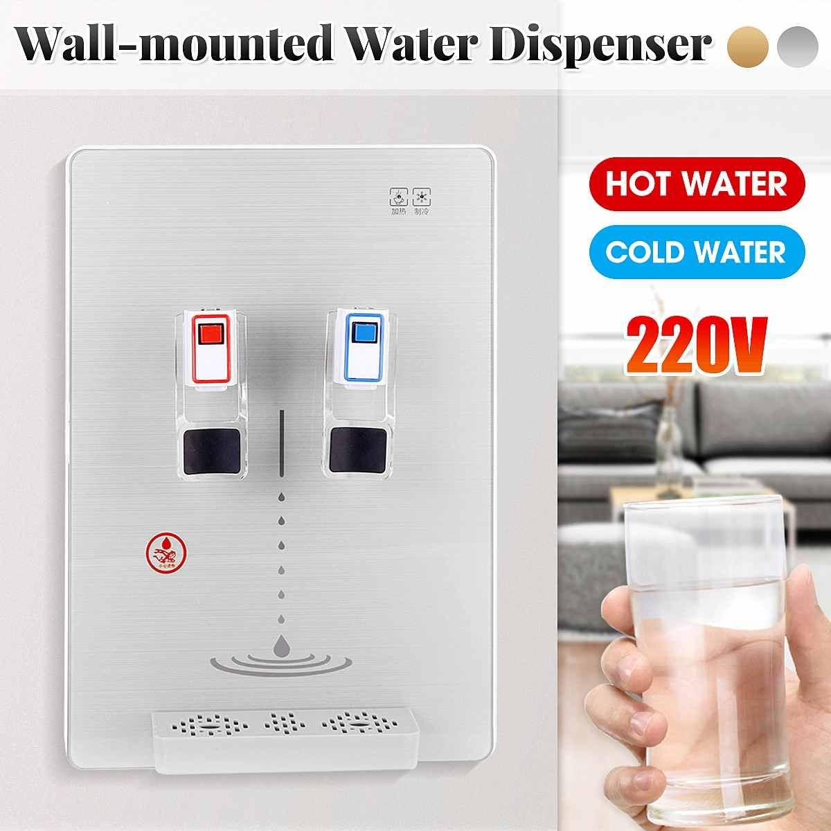 Plus récent mural Distributeur d'eau Travailler avec Purificateur d'eau 220 ménages chaud Distributeur d'eau froide potable pour Home Office