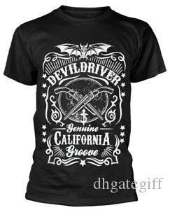 Devildriver Kaliforniya Groove Tişörtlü YENİ RESMİ