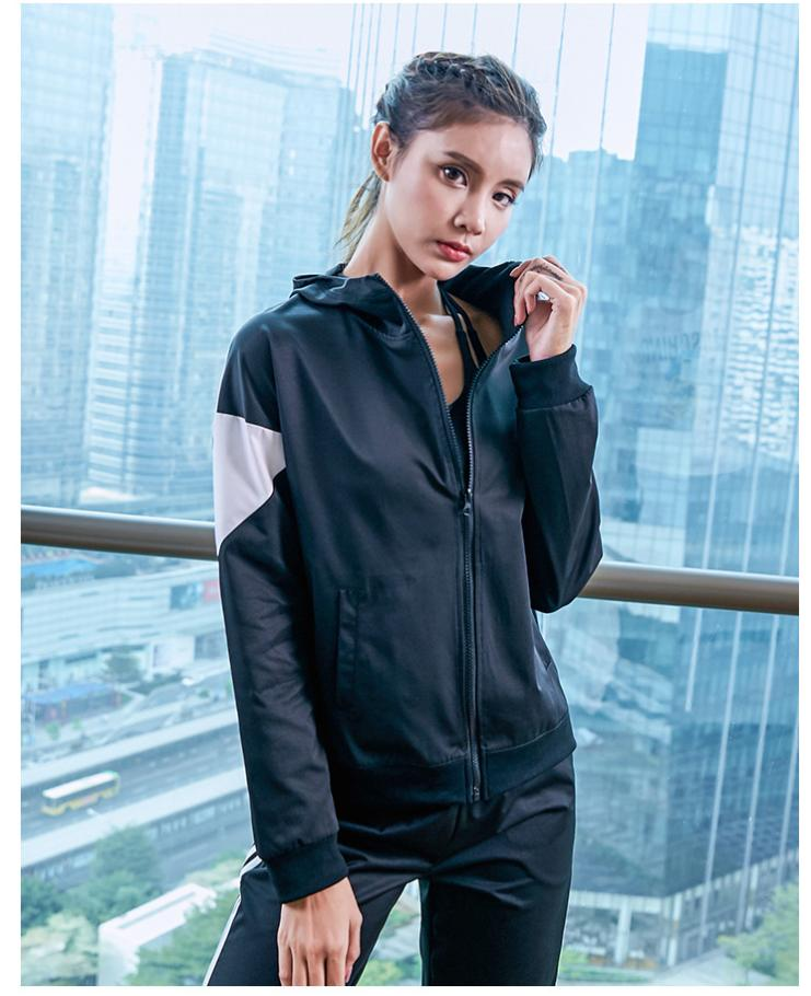 Women's Tracksuits Women S Clothing 2 Piece Set Long Sleeve Designer Jumpsuits Fashion Zipper Stitching Yoga Sports Clothes PH-csl19122301