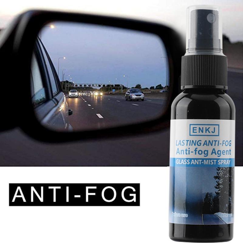 ENKJ 50ML نافذة السيارة رش منظف زجاج النوافذ المعطف مكافحة الضباب وكيل المياه طارد زجاج منظفات