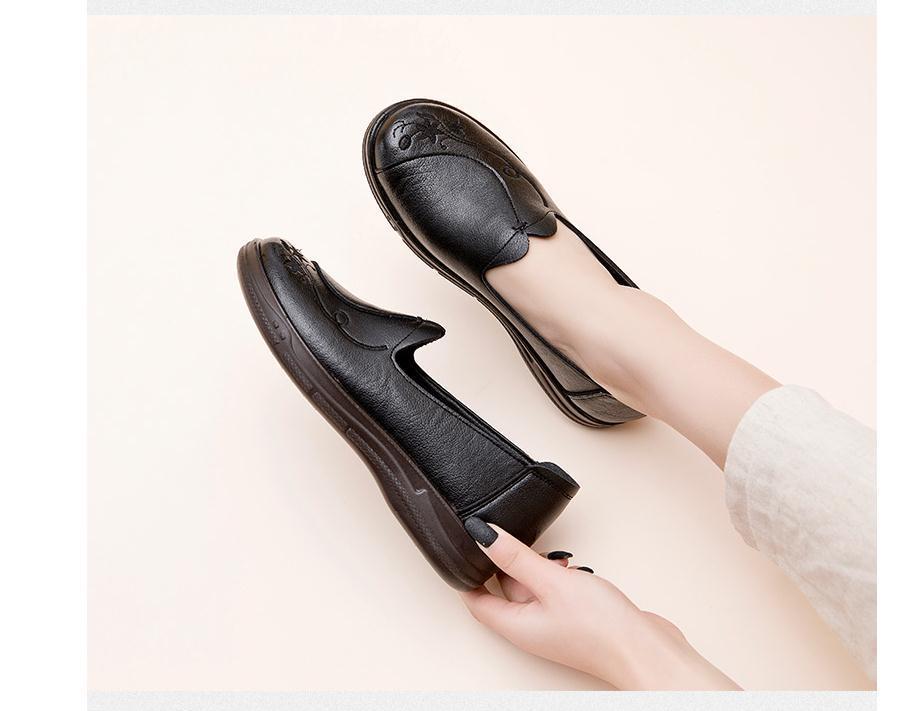 2020 весной и осенью с обувью Новый стиль моды Slope пятки круглая голова женщин в @ MQWBH662