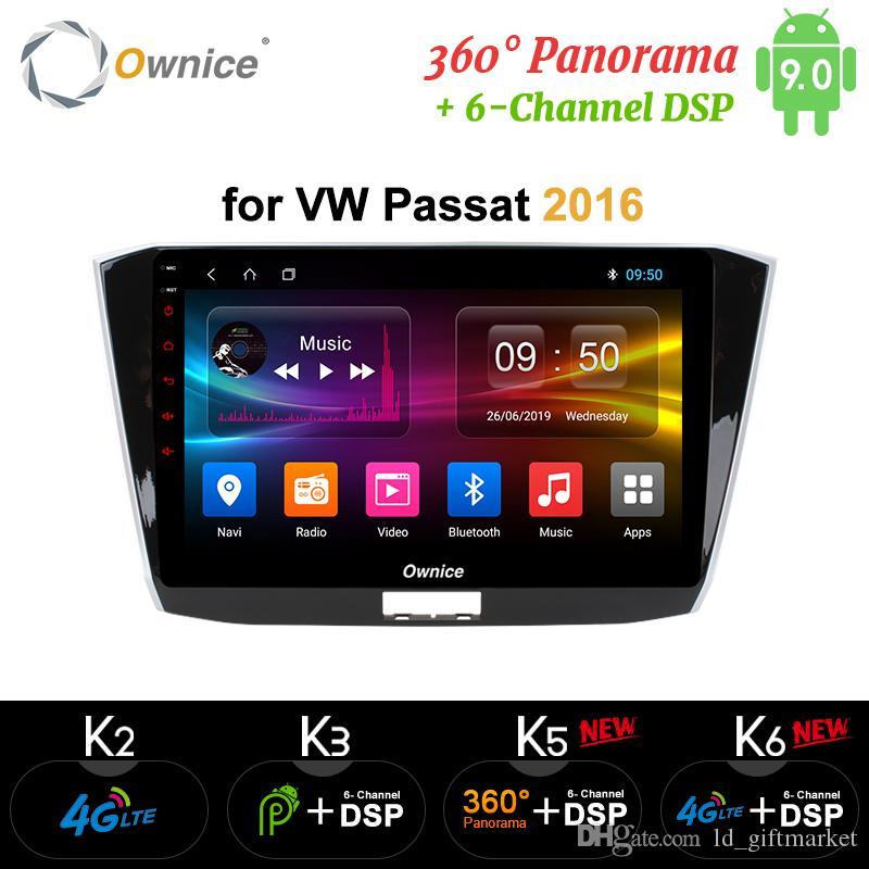 Ownice Android 9,0 Octa Nucleo Car DVD Radio Player GPS K3 k5 k6 Per Volkswagen Passat 2013-2016