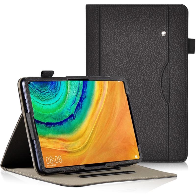 Ajustable PU stand affaires Flip Book Case Cover pour Huawei MatePad Pro 10,8 2019 MRX-W09 W19 AL09 AL19 Tablet Dragonne