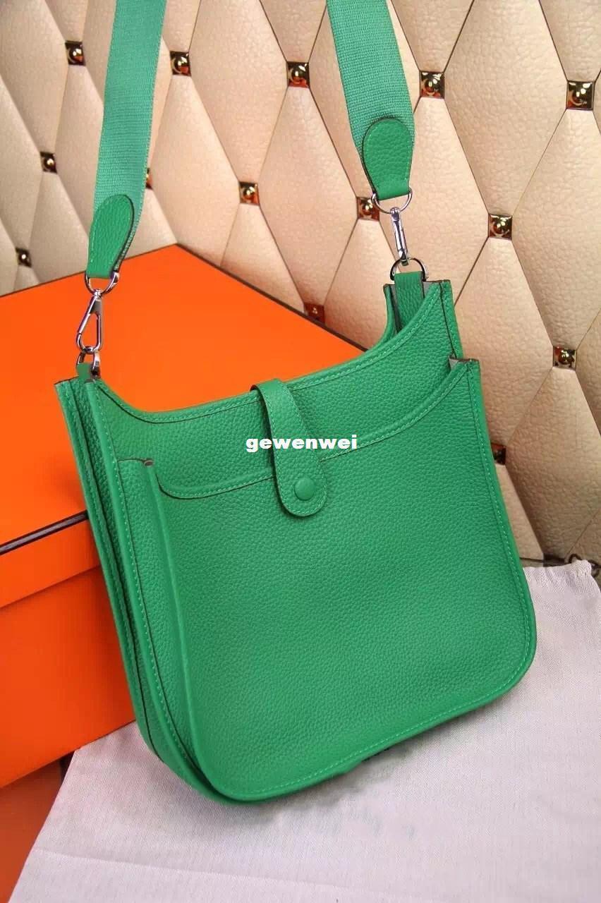 borse borse a spalla della signora Style cadaveri trasversali Borse di nuovo delle donne delle signore di sacchetto borsa Grey Oxhide Dimensioni accessorio di moda a buon mercato donna Borse