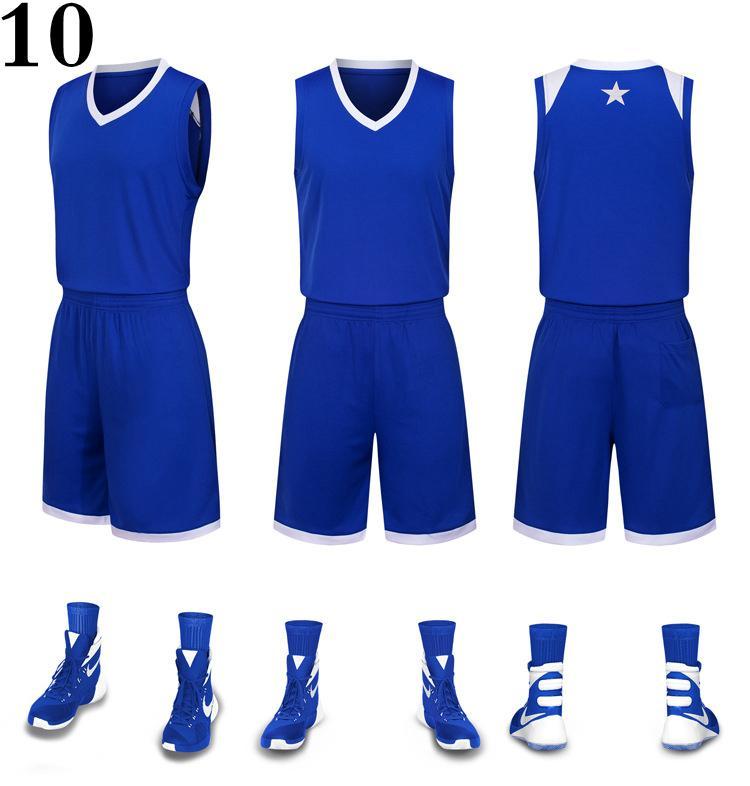 Em branco nome personalizado faz Número Verde Vermelho Branco Melhor Qualidade Basketball Jersey MENS TAMANHO S-XXXL BARATO FÁBRICA PREÇO B6619gG