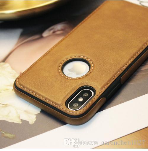 Luxus pu leder handy case für iphone x xs max xr 8 handy case für iphone 8 7 6 6 plus deckt