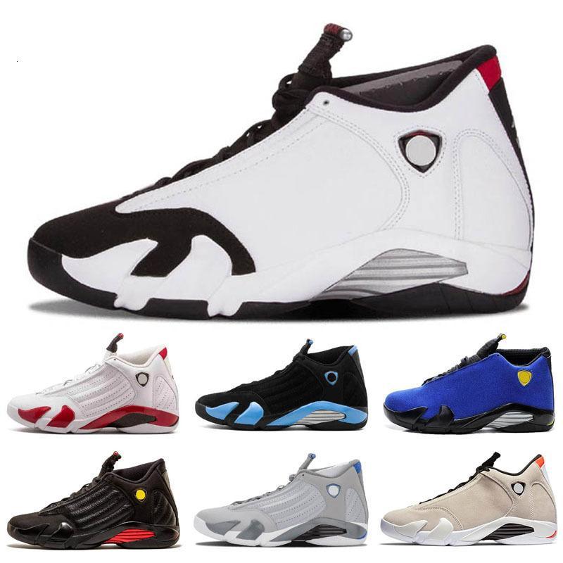 Desert Sand 14s DMP Jumpman 14 kids basketball shoes XVI Red Black toe Indiglo Last shot Thunder Wolf grey sports shoes sneaker