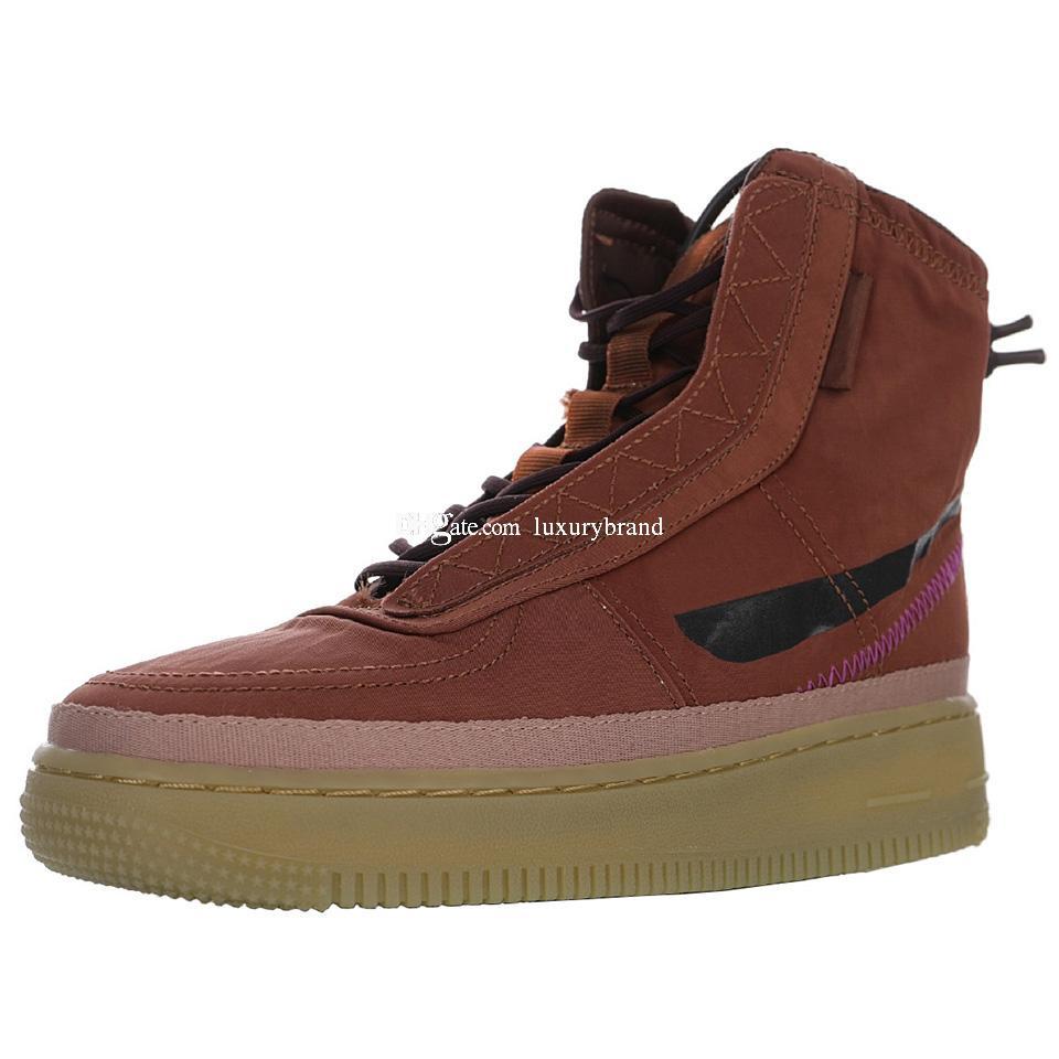 Shell Бордовый Коричневый Спорт Ботинки Мужские Спорт Загрузочный Mens лодыжки кроссовки Женской Mid Sneaker Женская сетка Скейт обувь Мужской обуви коньки