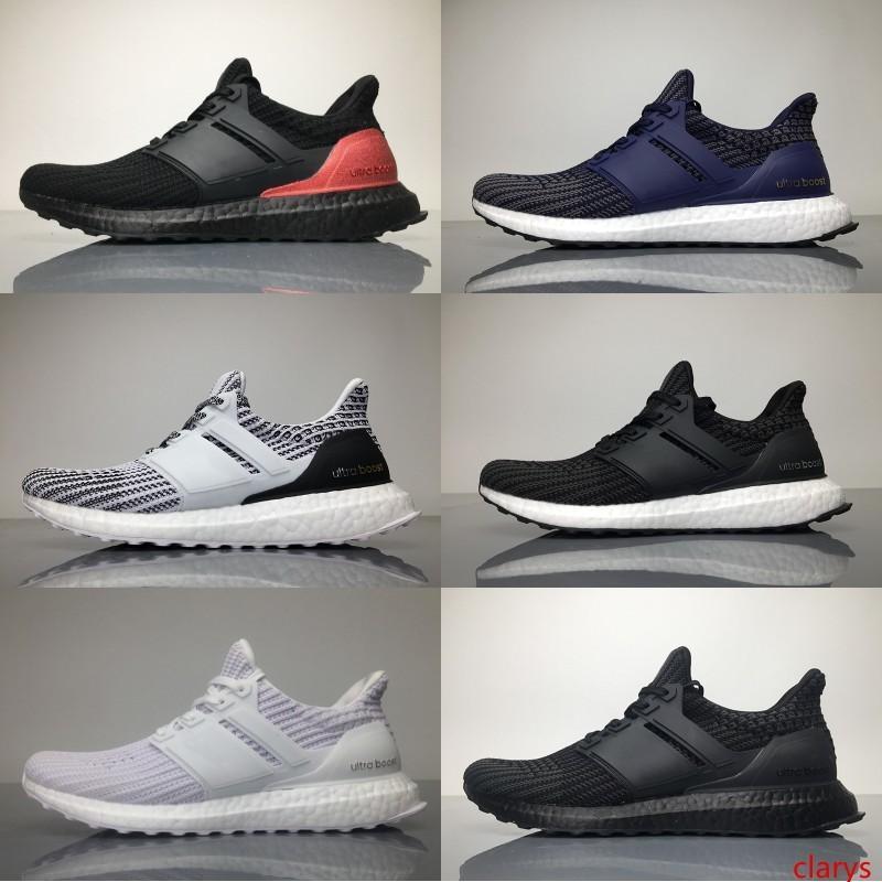 Ultra 3.0 4.0 Eqt womens koşu ayakkabıları üçlü gri pembe CNY oreo mavi Ultra Primeknit Ayakkabı Spor sneakers size5-11