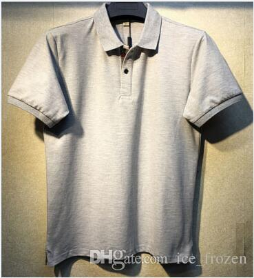 British Fashion Men Polo Horse Stampa manica corta Inghilterra Casual Male Polo slim fit Londra New T-shirt Abbigliamento uomo estivi