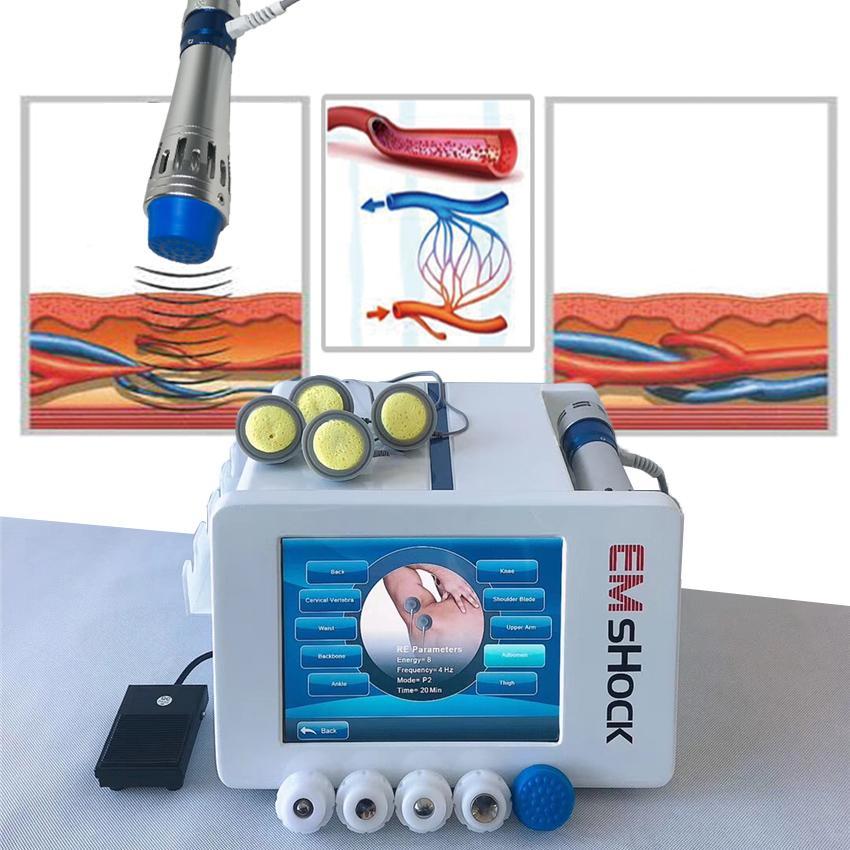 Pulso máquina vibradora pérdida muscular eléctrico estimulador de electroterapia onda de choque que adelgaza el ccsme / peso
