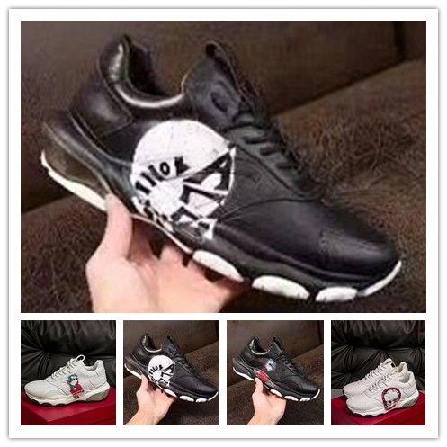 2020 nouveau cuir pour dames design RUN designer populaire hommes occasionnels maille chaussures occasionnels 35-46 0k57