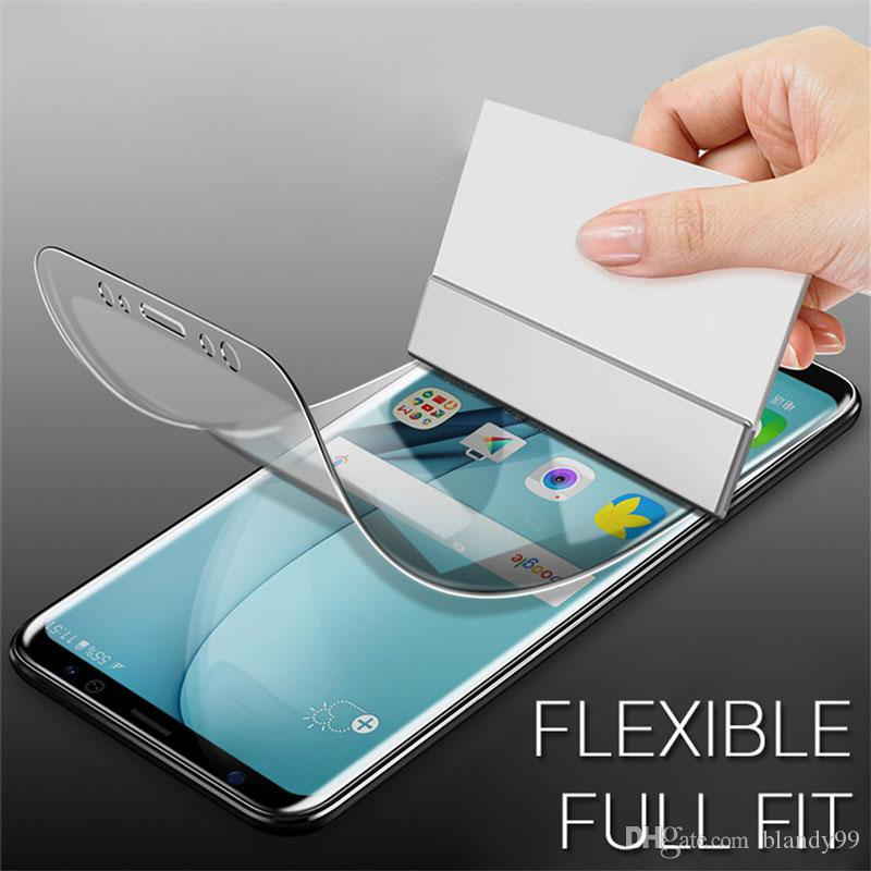 Soft Hydrogel Protective Film For Samsung galaxy S10 lite e S9 S8 Plus Screen Protector Note 9 8 S7 Edge with retail package