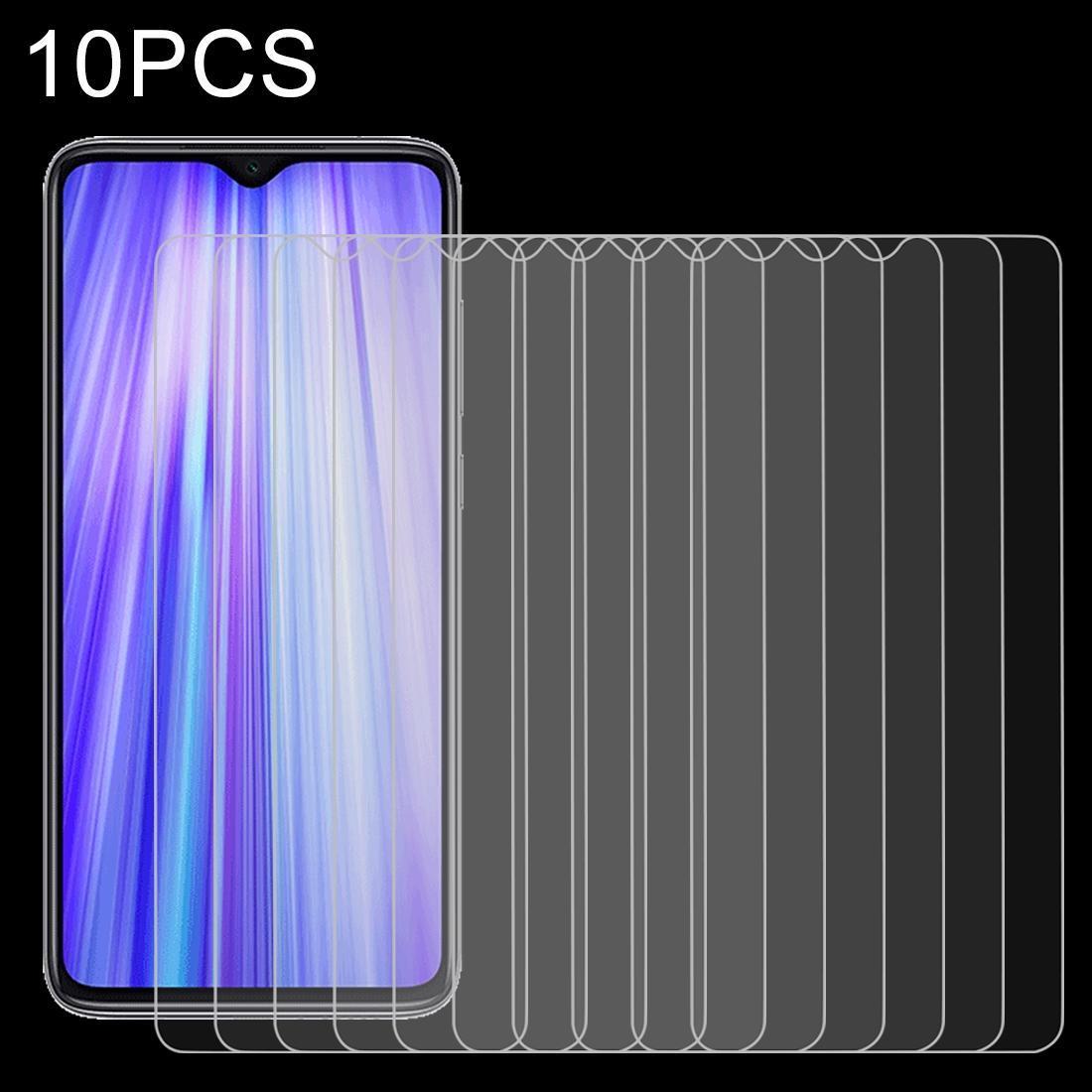 Für Xiaomi Redmi Anmerkung 8 Pro 10 PCS 0.26mm 9H 2.5D Ausgeglichenes Glas-Film