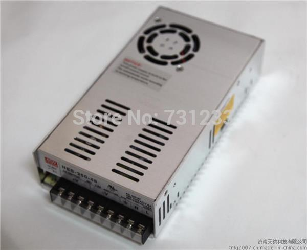 Freeshipping ! Mean Well Switching Power Supply 350W 48V 7.3A NES-350-48 Nema 23 Stepper Motor Switch Power Supply
