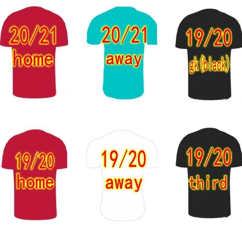 19 20 21The Reds fans soccer jersey baby kids football shirts home away third camisetas de futbol goalkeeper black goalie green uniforms