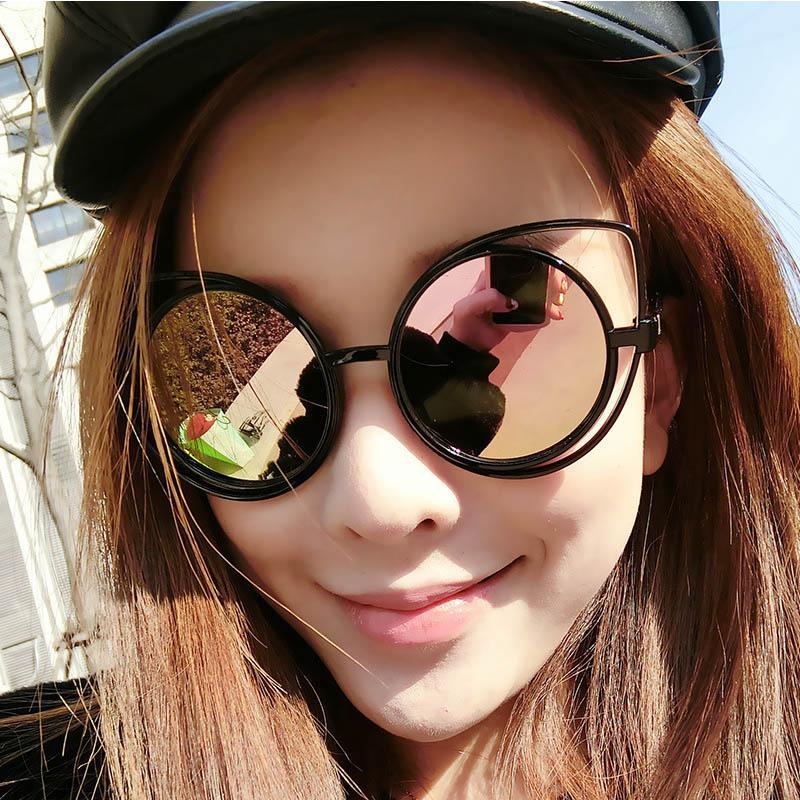 2020 Occhi di gatto occhiali da sole a specchio retrò delle donne degli occhiali da sole del progettista di marca donne nuove signore