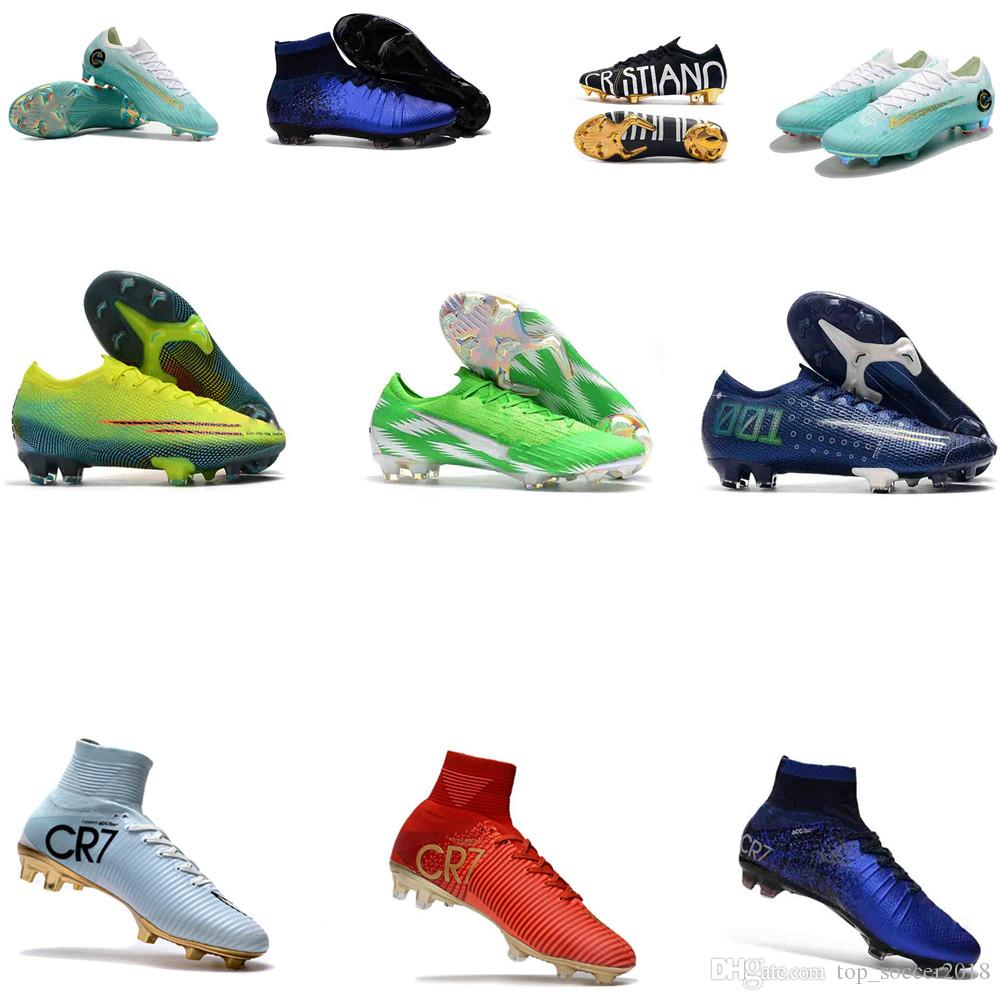 35-46 Geschwindigkeit Mercurial 360 13 Elite FG Fußballschuh Mercurial Superfly V SX Neymar JR 100% Original-Kinder-Männer Frauen-Fußball-Schuhe