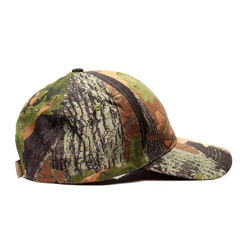 Uomini Outdoor Sport schioccano indietro le protezioni Camouflage Hat Semplicità tattico militare dell'esercito Camo di caccia della protezione del cappello per l'adulto Cap Pallavolo Pantaloncini