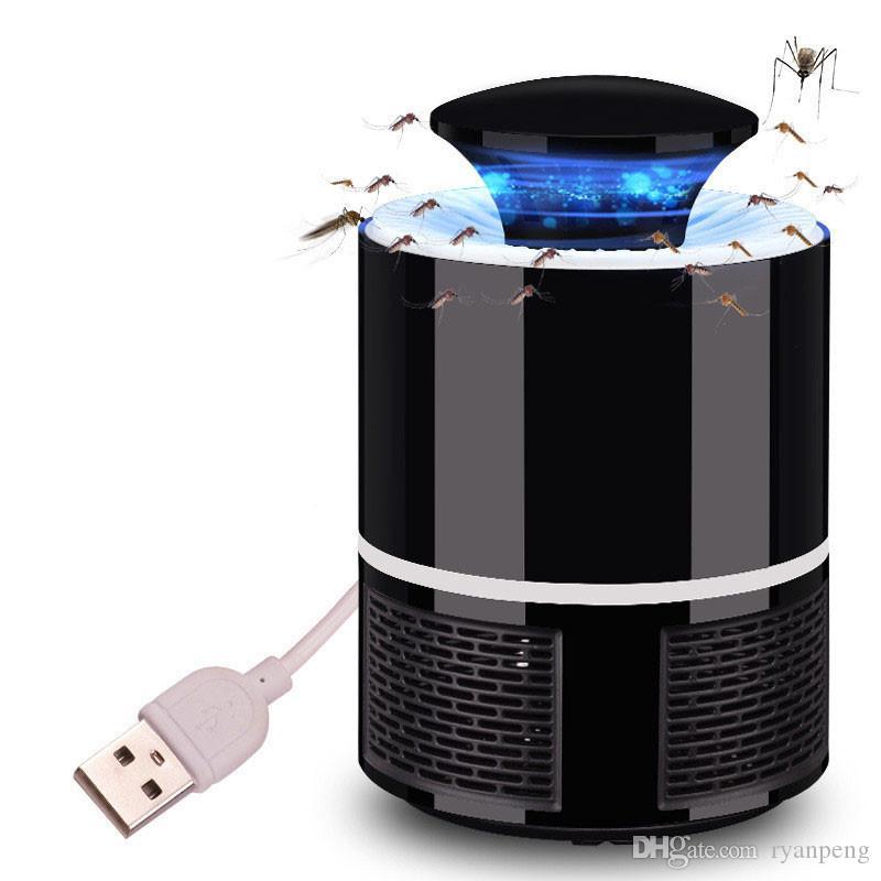 Elektrische Mückenvernichter Lampe LED Bug Zapper Anti Mückenvernichter Lampe Insektenfalle Lampe Killer Home Wohnzimmer Schädlingsbekämpfung