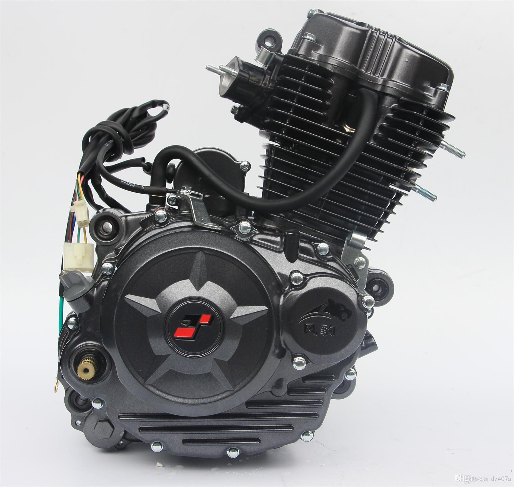 Compre 150 Ml De Alta Potência Motor Da Motocicleta, Triciclo, Motocicleta  Pode Ser Usado  Carburador, Componentes Do Braço Inicial, Etc De Dz407a,