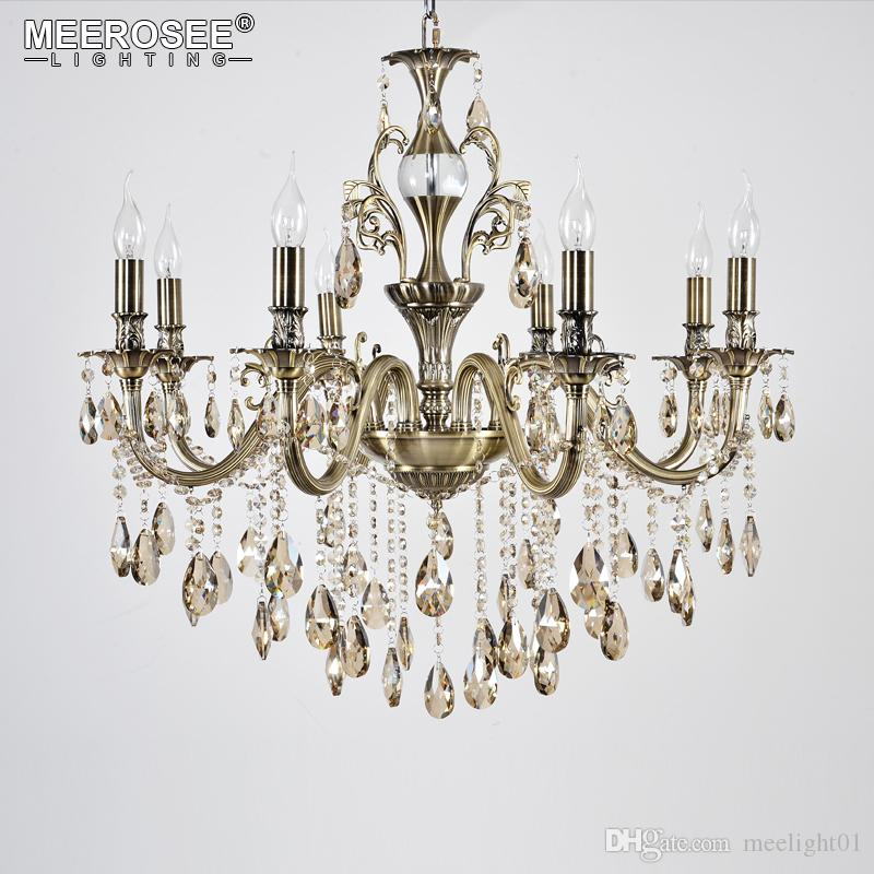 Lustre de cristal de luxo luminária de boa qualidade suspensão lâmpada pendente moderna luz pingente lampara de techo para sala de estar