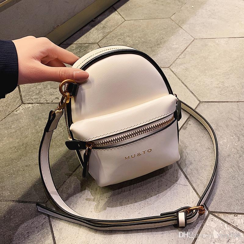 2019 новый искусственная кожа Женщины сумки hotsale дамы маленькая хозяйственная сумка плечо messenger crossbody сумки hutongli/3