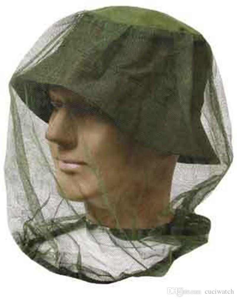 Mosquito Net Hat Fishing Veil Head Cover Face Protect Winged Insect Control Effect Hat Beekeeping Climbing Outdoors Camping Veil