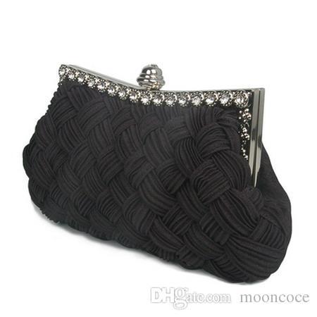Fashion Fashion Casual Diamond Women Evening Bag Weave Solid Cover Female Hand Bag Hard Versatile Handbag Bag 2019