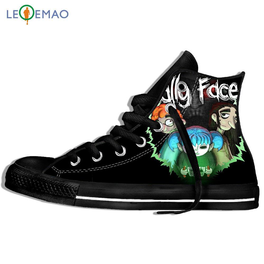 Gehen Canvas Boots Schuhe atmungsaktiv Sally Gesicht Tops Freizeit Harajuku Canvas Heiße verkauf gummibesohlten Sport Klassische Turnschuhe
