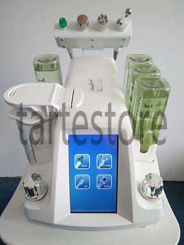 Hidra Dermabrasion RF Bio-lifting Spa Facial Machine / Aqua Facial limpieza Machine / water Peeling Dermabrasion