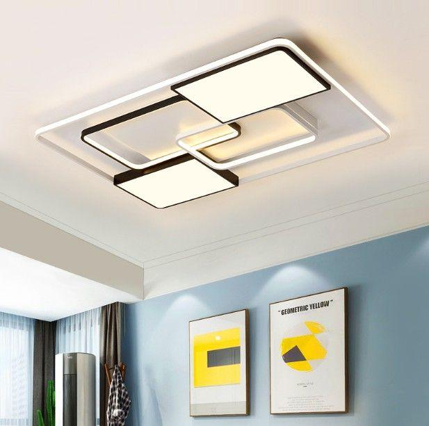 Новый современный LED Потолочные светильники Гостиная Столовая Спальня Luminarias Para Teto освещение лампы Для дома Крепеж LLFA